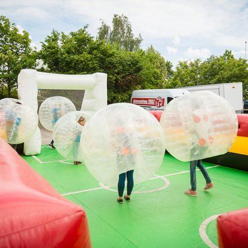 Bubble Football ausleihen
