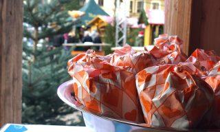 Geröstete Mandeln für Weihnachten