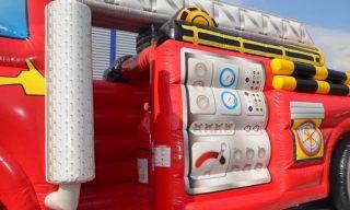 Hüpfburg Feuerwehrauto Vermietung