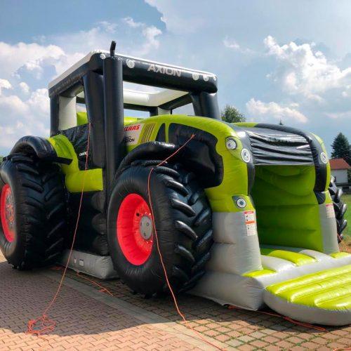 Hüpfburg Traktor XXL mieten