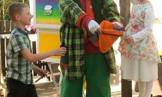 Zauberclown Brandolino für Kinder